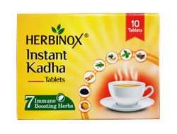 Herbinox Instant Kadha, Non prescription, Packaging Size: 10 Tablets
