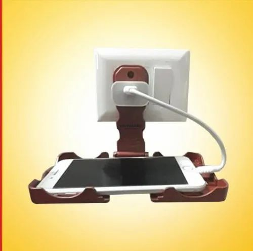 Plastic Yellow WoW Mobile Charging Stand, Packaging Type: Box Pack