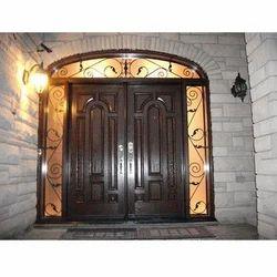 Exterior Wooden Front Door