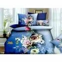 Flower Double Bed Sheet