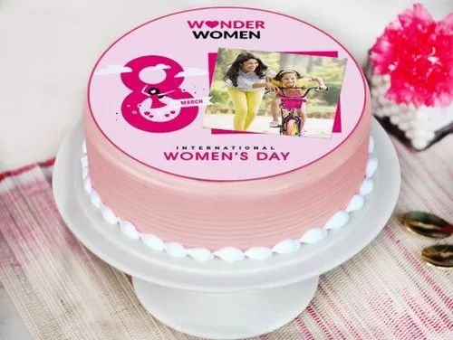 Prime Women Day Cakes Women Day Cake Manufacturer From Mumbai Funny Birthday Cards Online Fluifree Goldxyz