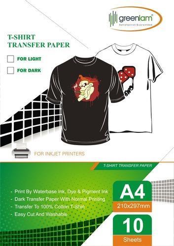 3f49759c6 Dark T-Shirt Transfer Sublimation Paper, उत्सादन कागज़ ...