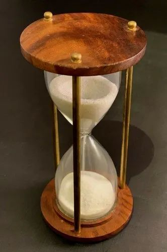 Wooden Antique Hourglass Sand timer