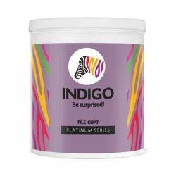 Indigo Tile Coat Platinum Paint, Packaging Type: Tin