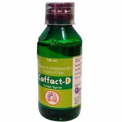 Coffact-D糖浆,包装类型:瓶,包装尺寸:100ml