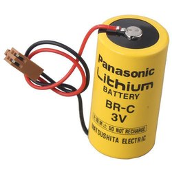Panasonic Battery BR-C 3V For Fanuc CNC System