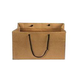 0c37882ac6f Paper Brown Cake Handled Carry Bag