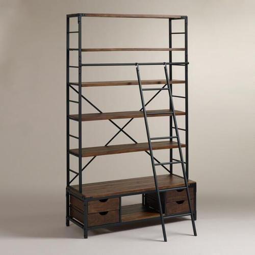 reputable site abe3a 9db19 Bookshelf With Ladder