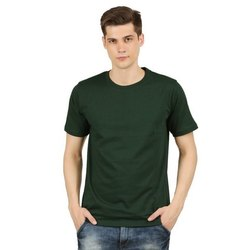 Mens Round Neck Cotton Half Sleeve T Shirts
