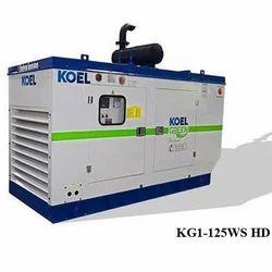 KG1-125WS HD KOEL Green Diesel Generator Set, 125 kVA