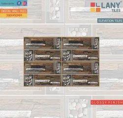 Digital Glossy Elevation Wall Tiles 30x45cm