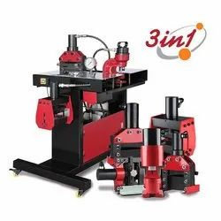 3 In 1 Bus Bar Cutting Bending and Punching Machine