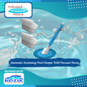 Automatic Swimming Pool Cleaner With Vacuum Hoses