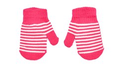 Pink Striped Winter Hand Wash Gloves