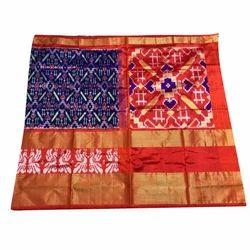 Vanisri Handlooms Festive Wear Silk Cotton Saree, 5.5 m (separate blouse piece)