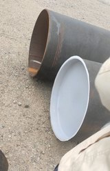 24 Inch Plastic ID Fitting Pipe Cap, Head Type: Round