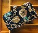 Kundan Work Ladies Clutch Bags
