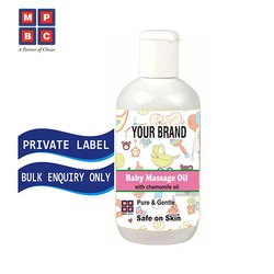 OEM or Private Label Baby Massage Oil with Chamomile Oil