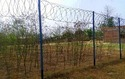 Concertina Coil and Razor Wire Ground Fencing