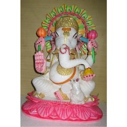 Beautiful Handicraft Marble Ganesh Statue