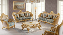Aarsun Woods Wooden Royal Sofa Set, For Home, Living Room
