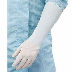 Mediserve Latex Elbow Length Hand Gloves, Size: Large