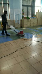 Tiles Floor Scrubbing Cleaning Services