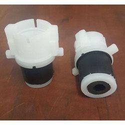 Duct Simple Plug for Optical Fiber Communication
