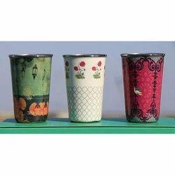 MS Handicraft Aluminum Water Glass