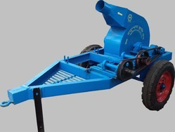 Tractor Cum Motor Operated Straw Loader
