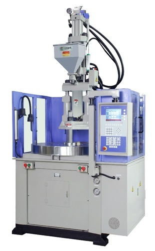 Vertical injection moulding machine image