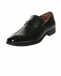 Van Heusen Black Slip On Shoes Vhmms01037