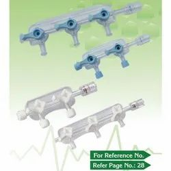 Plastic Clear Fold Manifold, Packaging Type: Box, Size: 6 -8 Inch