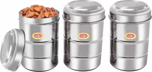 Nirlon Stainless Steel Russion Canister