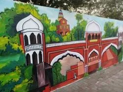 Wall painting art service