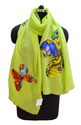 Wool Digital Print with Ombrey Stole