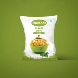 Pudina Banana Chips, Packaging Type: Packet, Packaging Size: 1.5x1.7X1.5