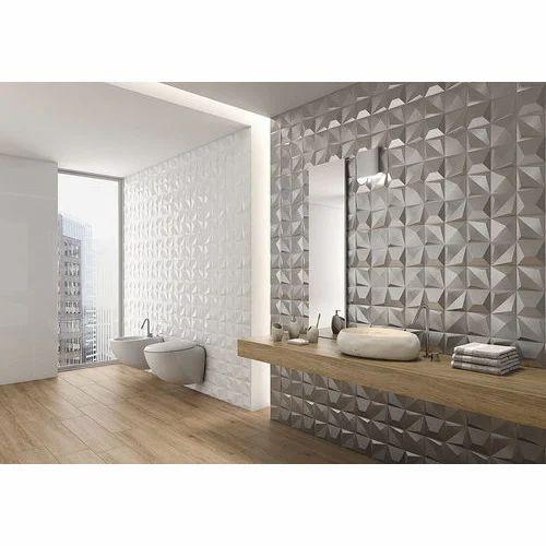 Ceramic 3D Bathroom Wall Tiles 8