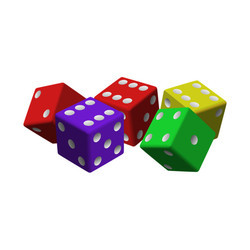 Colorful Gaming Dices