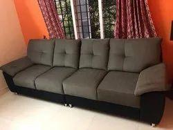 Solid Wood (Frame) Custom Wooden Sofa