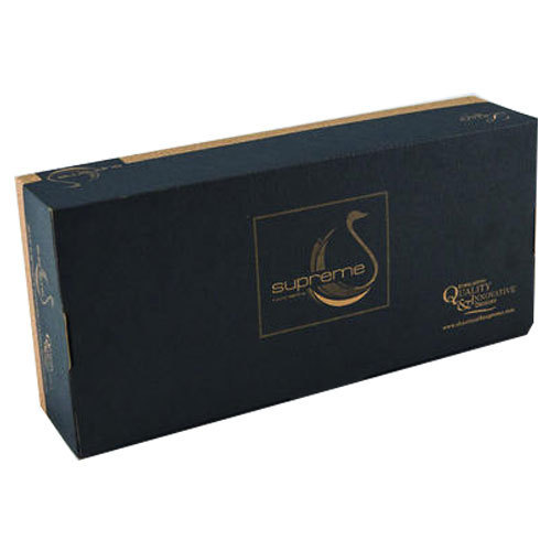 Black Luxury Living Product Packing Box