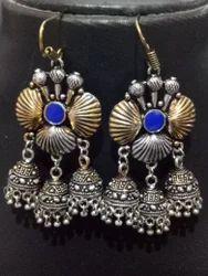 Beautiful Dual Tone Triple Jhumka