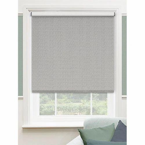Plain Roller Window Curtain Rs 1000 Piece Laxmi Sales