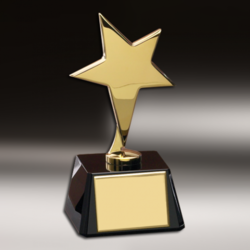 Modern Brass Trophy