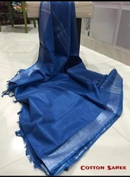 Cotton Slub Saree