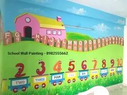 Cartoon Wall Painting Artist in Ahmedabad