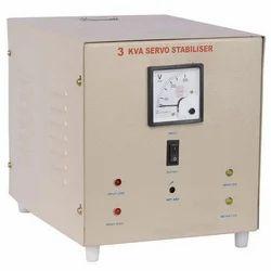 Single Phase 3KVA Servo Stabilizer