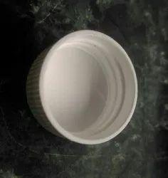 Poly Propylene White 22mm & 25 mm PP Screw Caps, For Pharmaceutical, Round