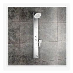 Olive Steel Matte Shower Panel