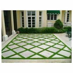 Concrete Interlocking Floor Tiles